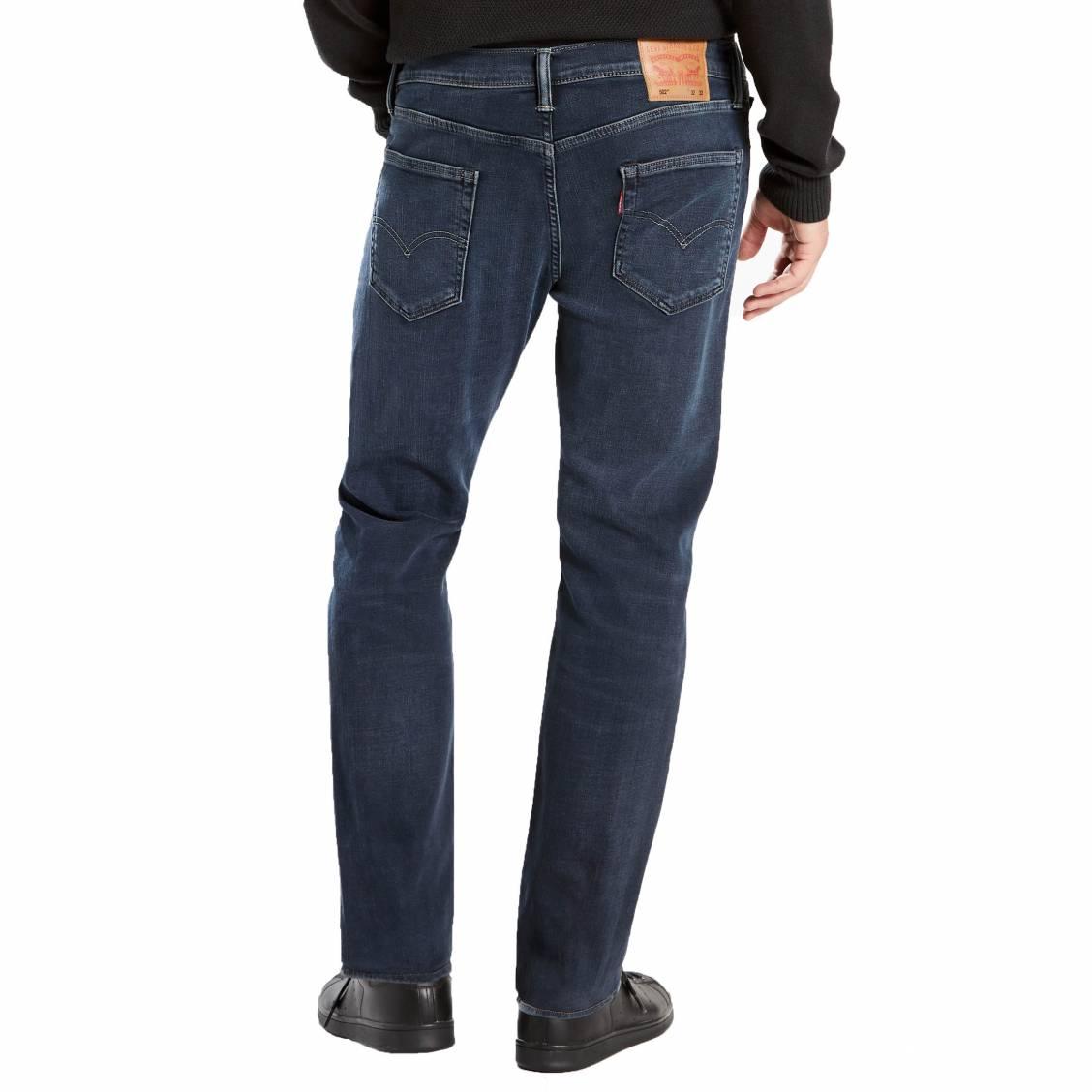 f15aadf156547 ... Jeans Levi s 502 regular taper Eyser Stretch en coton stretch bleu foncé