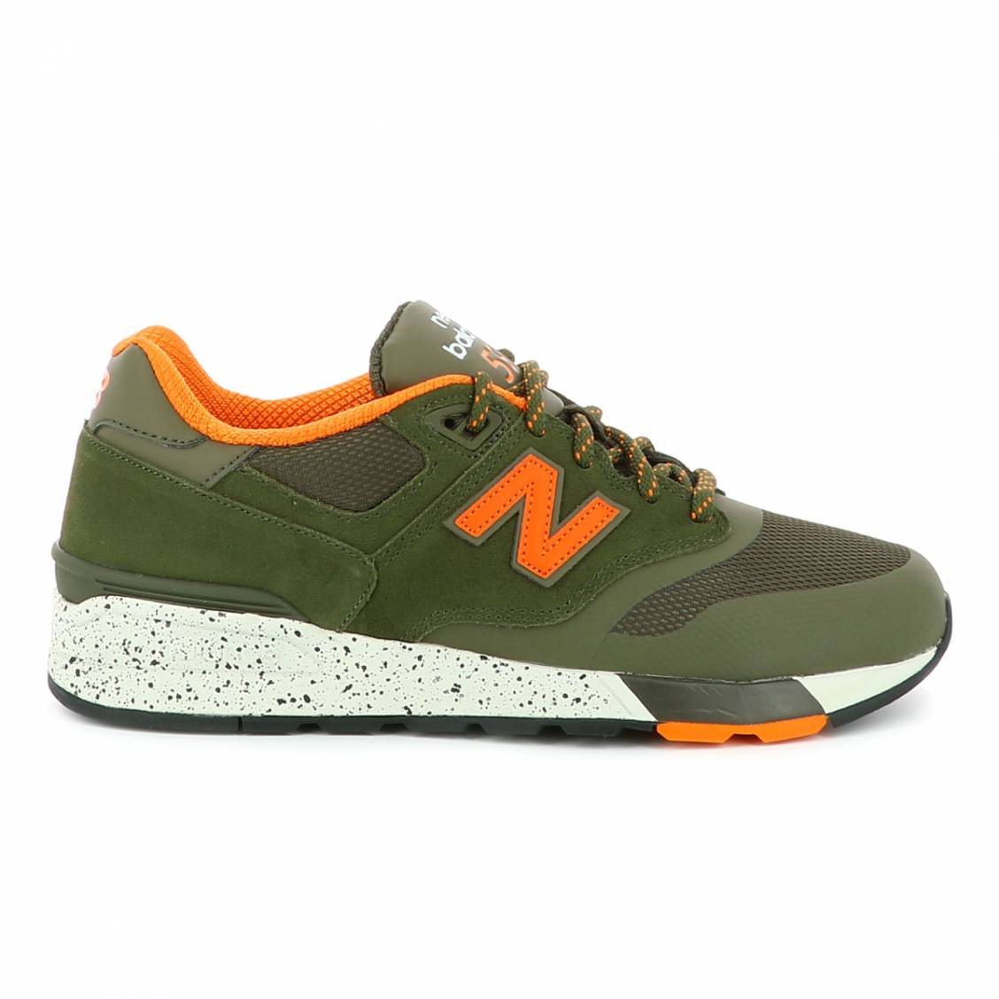 new balance blanche et orange