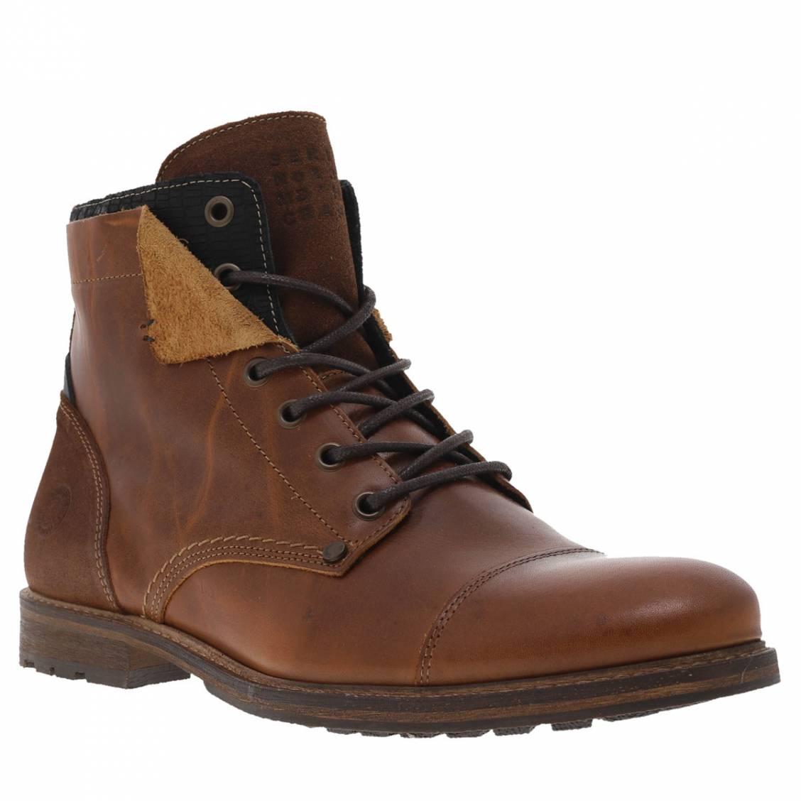92fc45db6ae Boots hautes Bullboxer marron Boots hautes Bullboxer marron ...