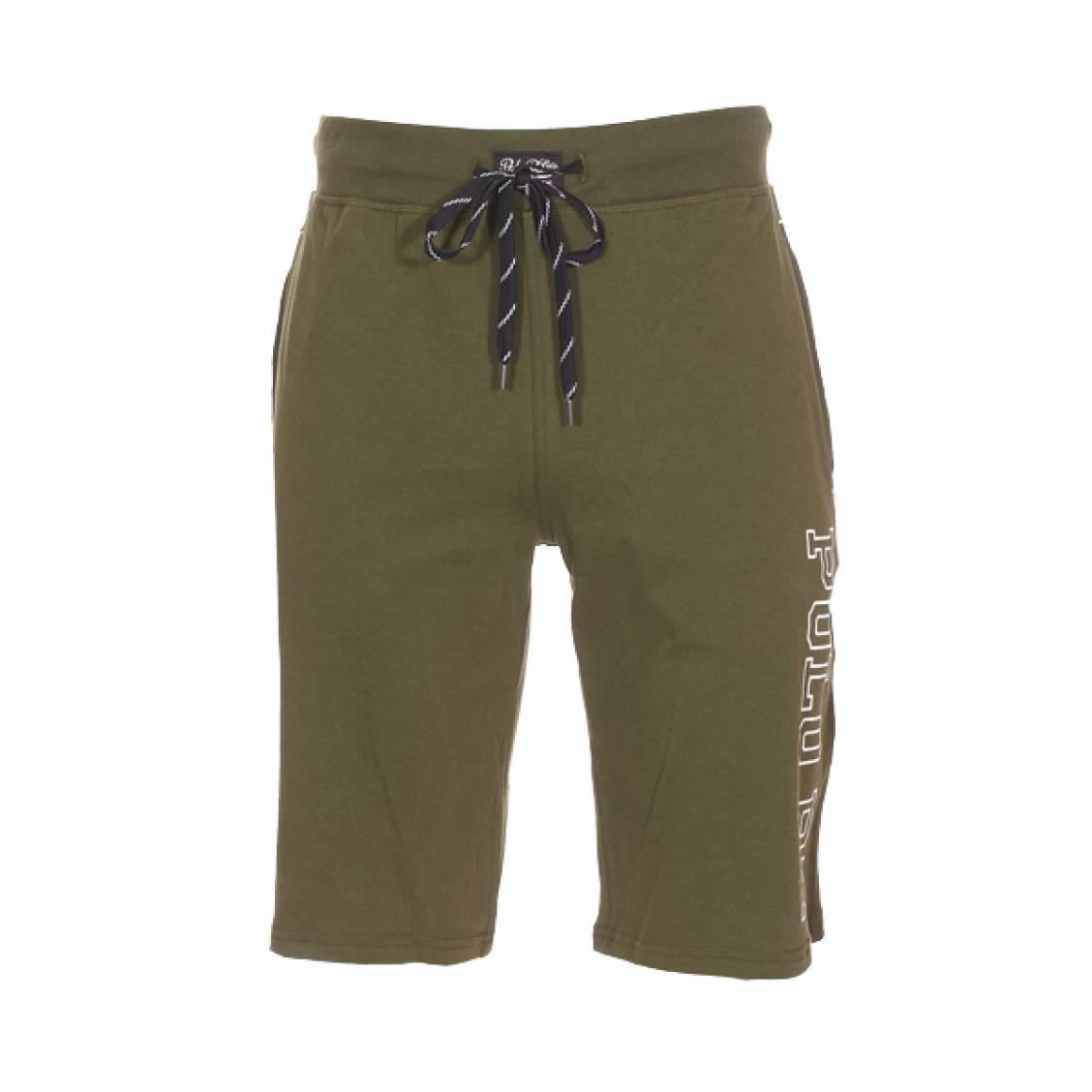 87135f17f3c Short de pyjama Polo Ralph Lauren en coton vert olive floqué ...