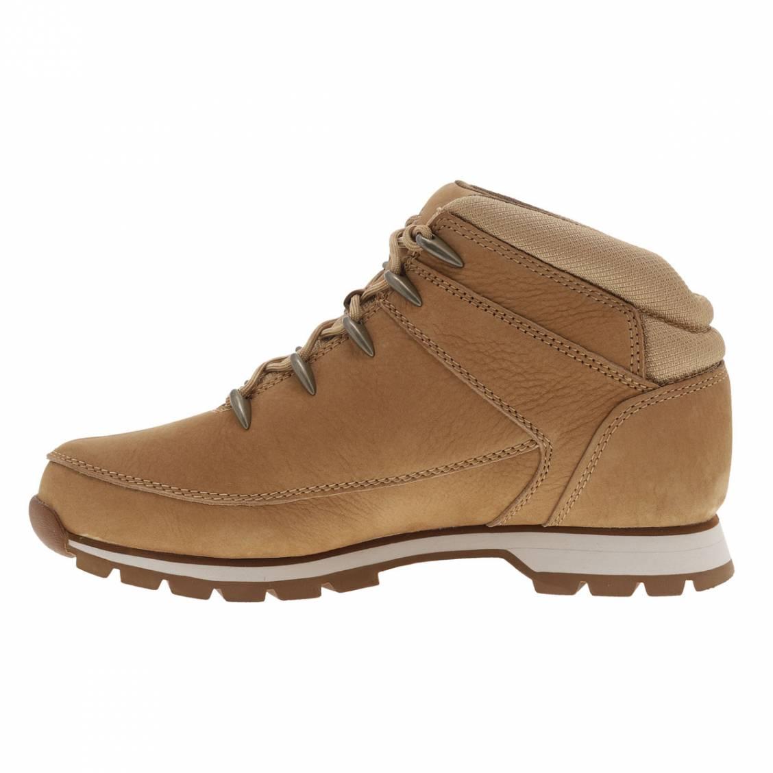 616e8598fd3 ... Boots montantes Timberlande en cuir véritable camel ...