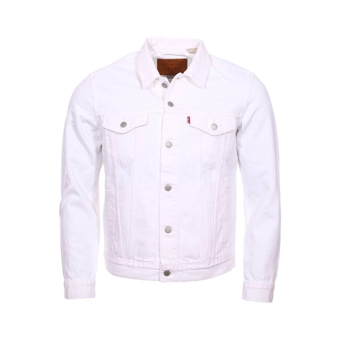 Veste en jeans levi\'s en coton blanc
