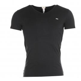 Tee-shirt col V Diesel Noir