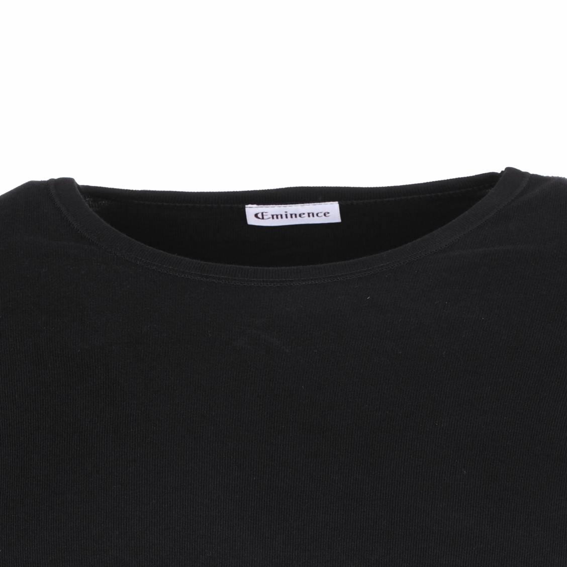tee-shirt Eminence hypoallergénique noir