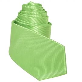 Cravate mi-slim vert Pomme Granny