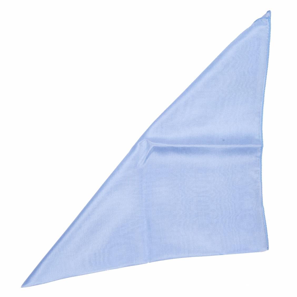 Pochette bleu ciel pour costume