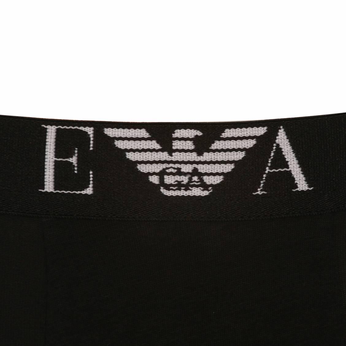 lot de 2 boxers Armani eagle en coton noi