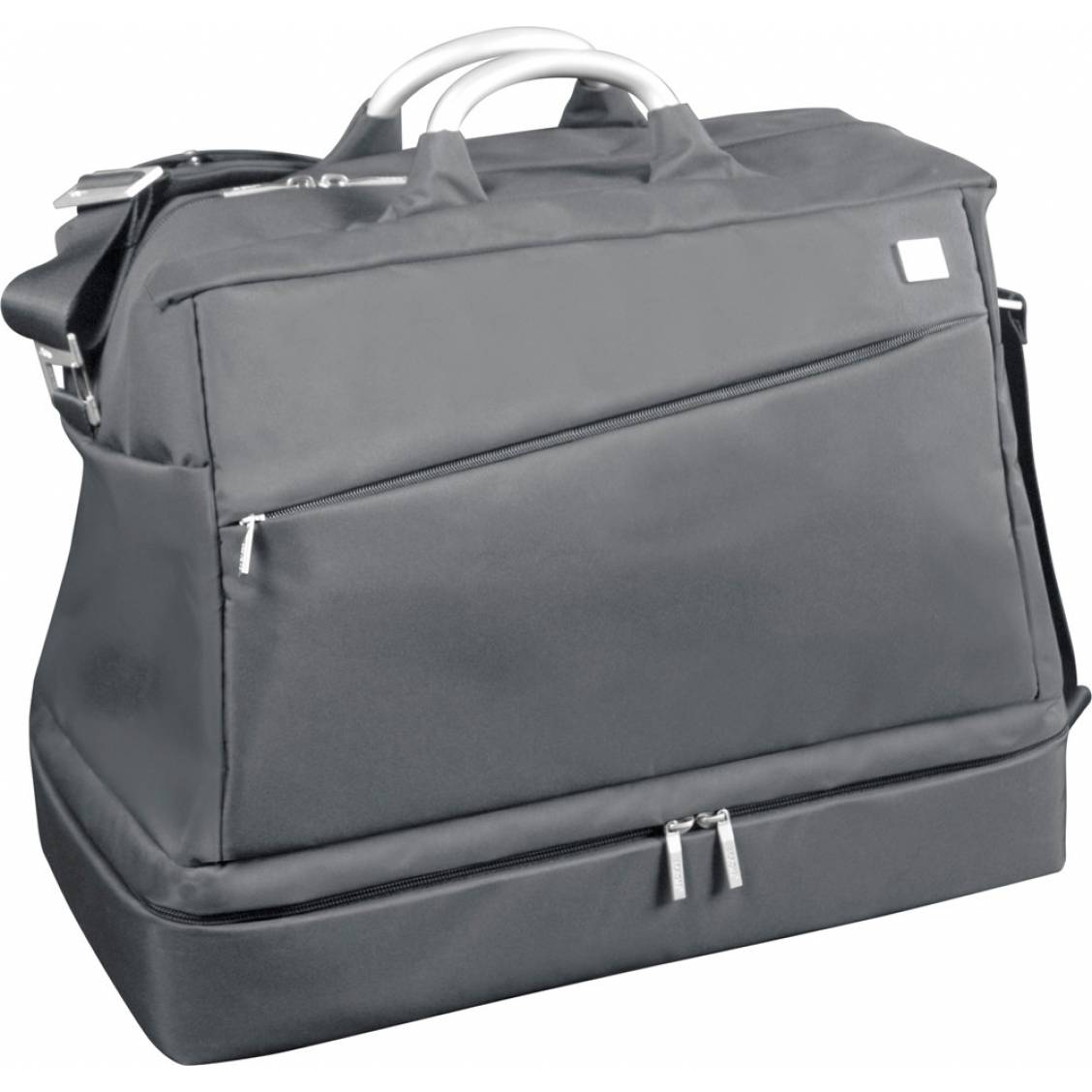 pin vetement homme sac de voyage airline double compartiment gris on pinterest. Black Bedroom Furniture Sets. Home Design Ideas