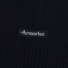 Pull col rond Armor lux Dinan marine