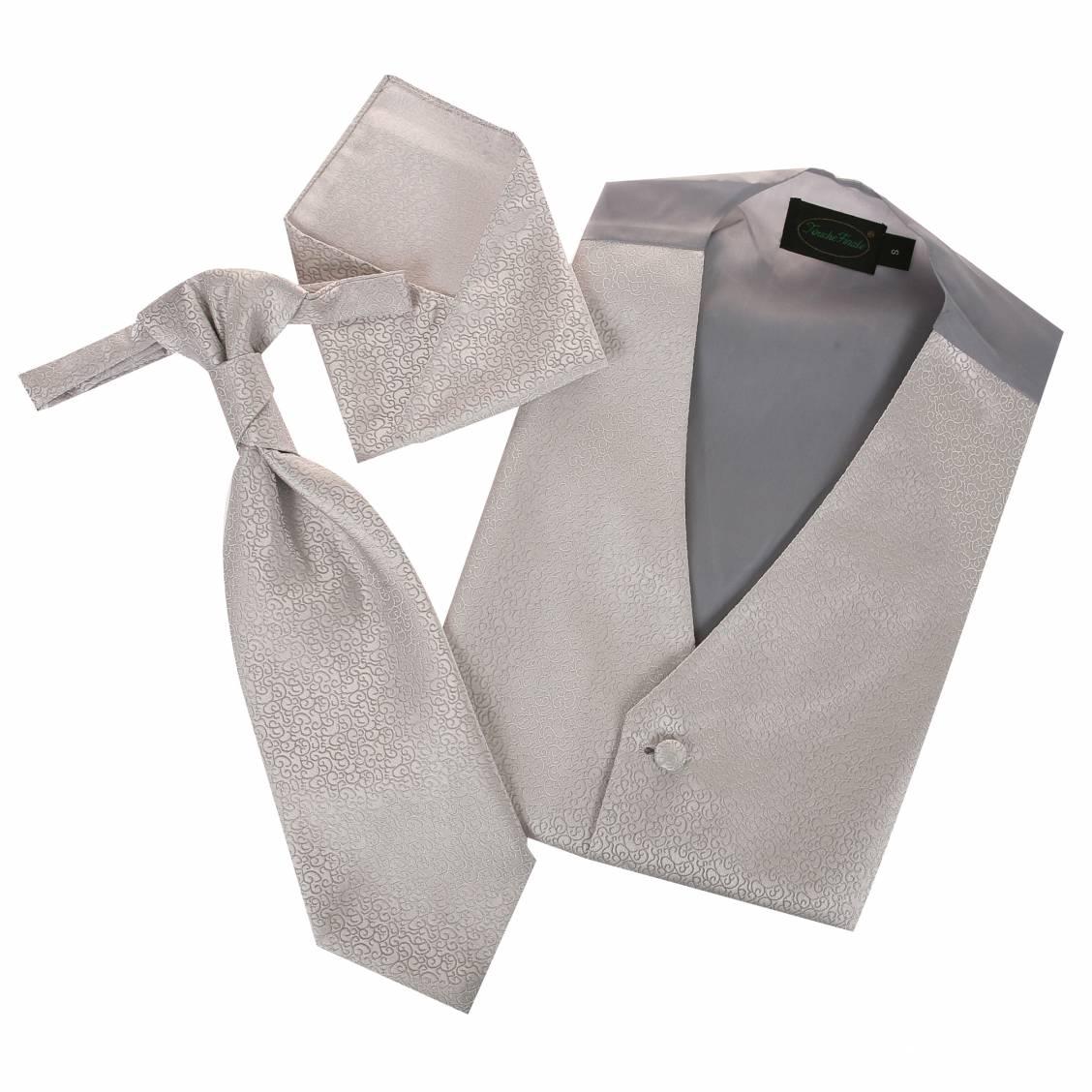 costume guy laurent gilet tailleur homme gris perle 2336 10 car interior design. Black Bedroom Furniture Sets. Home Design Ideas