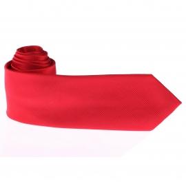 Cravate unie Rouge