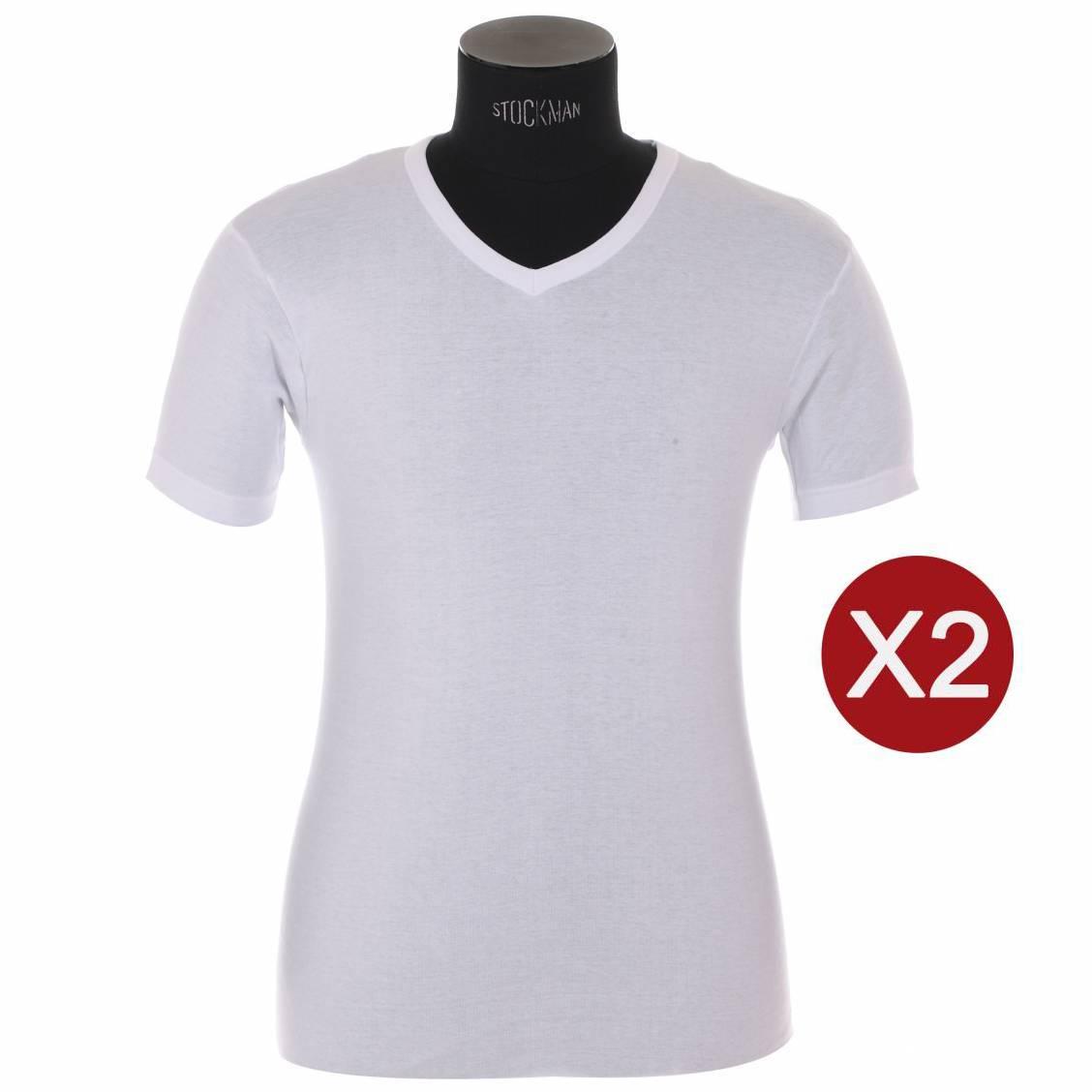 lot de 2 tee-shirts athena en coton