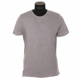 Tee-shirt  Best Mountain en lin gris