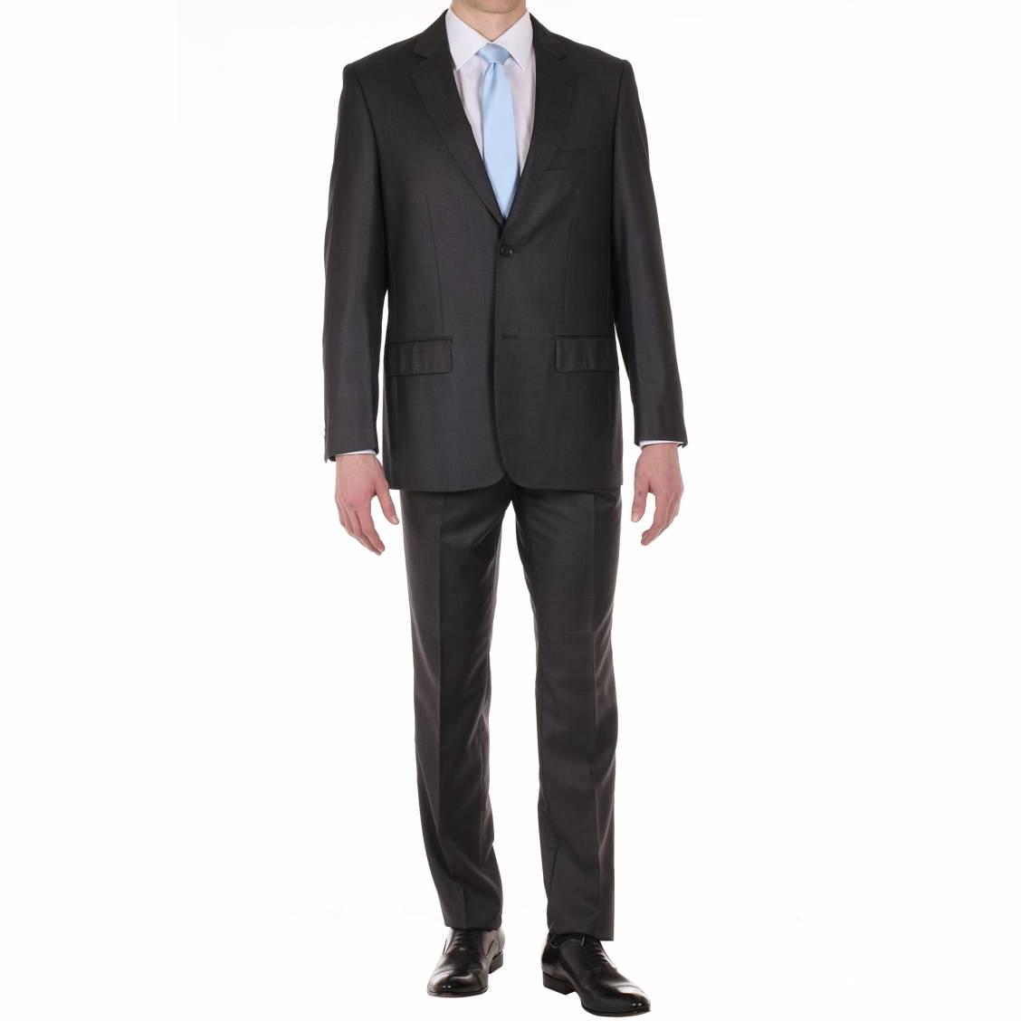 costume semi cintr gris anthracite 120 39 s rue des hommes. Black Bedroom Furniture Sets. Home Design Ideas