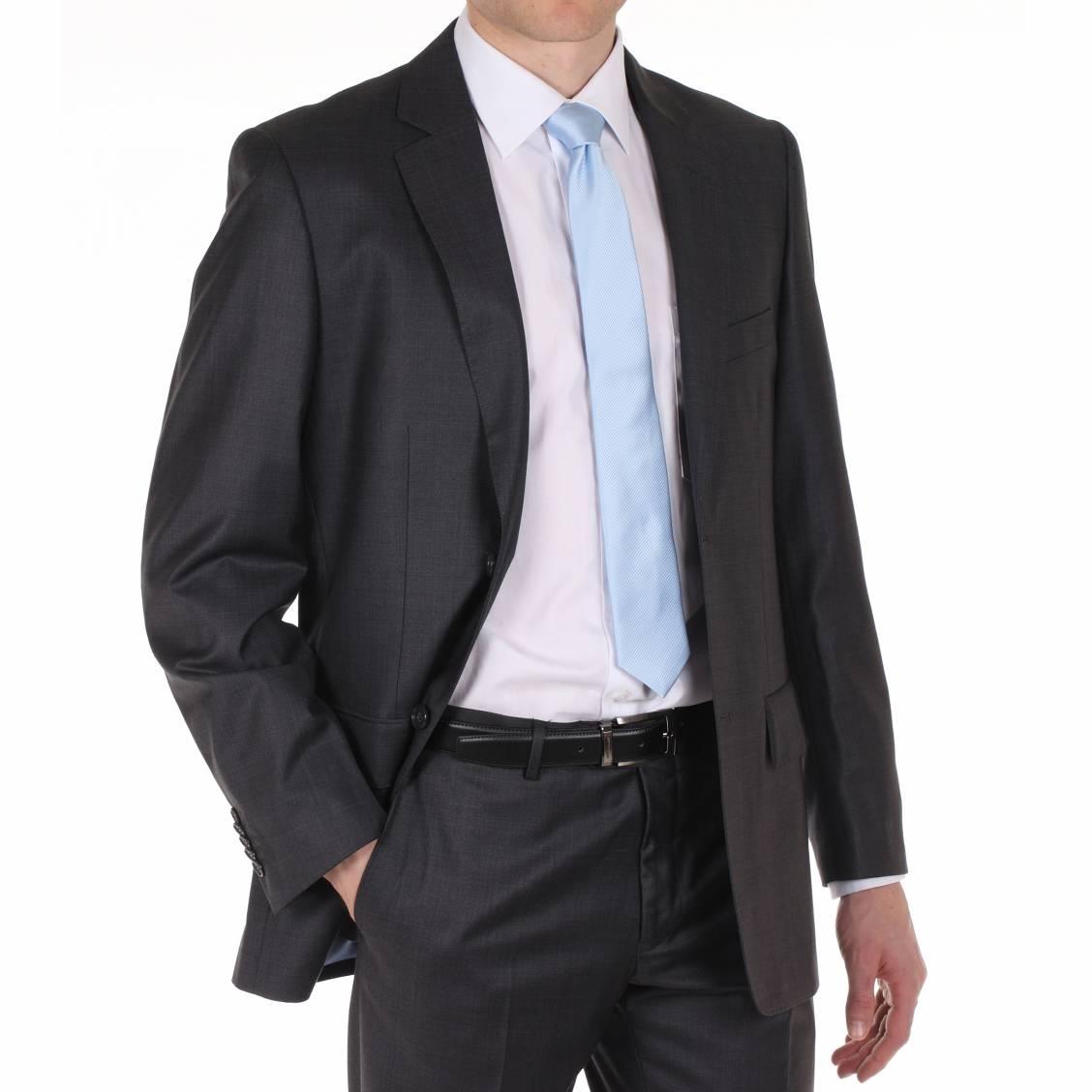 costume gris anthracite