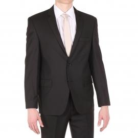 Costume Semi Cintré Noir 120'S cc4664
