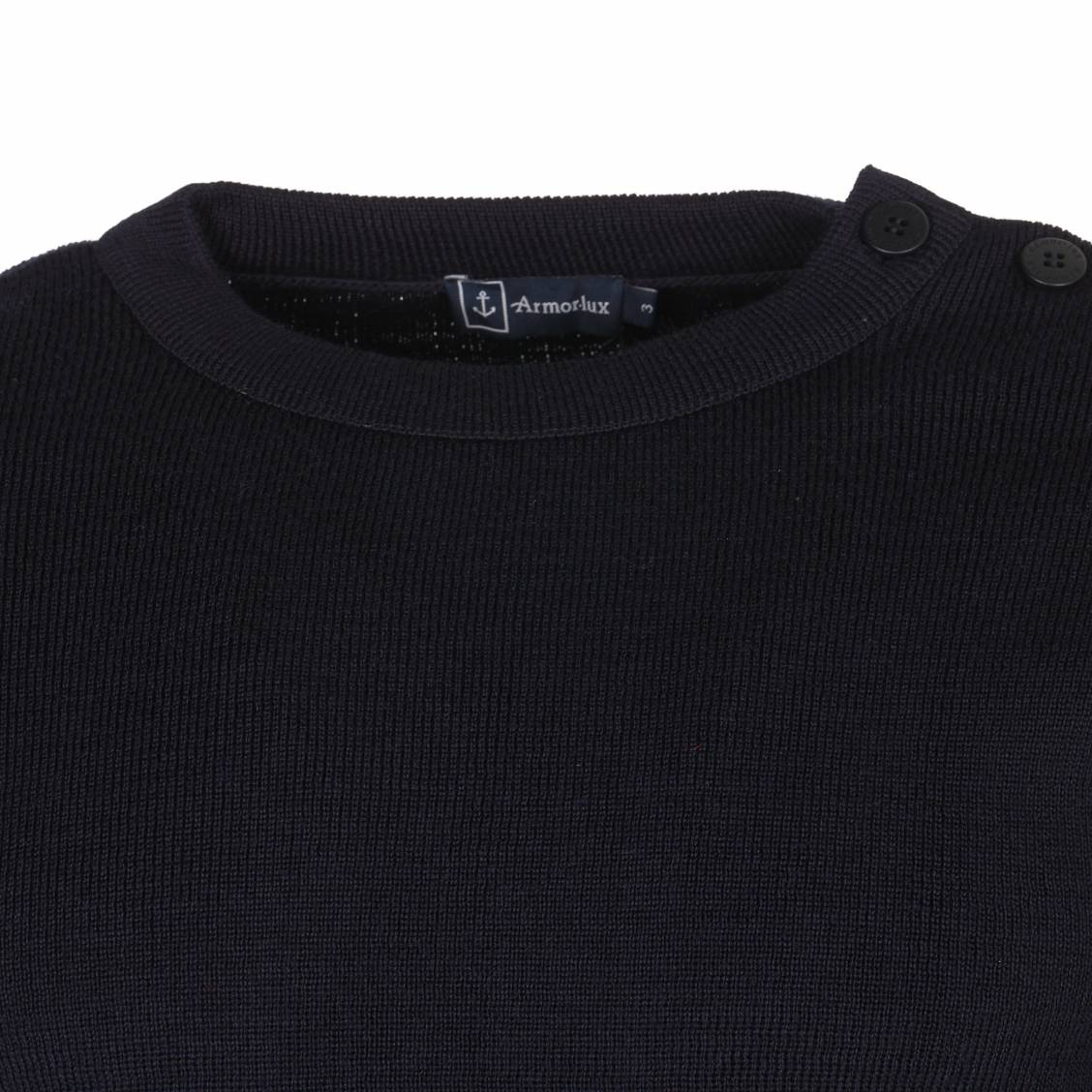 Souvent Pull Marin Fouesnant Armor lux 100% laine navy | Rue Des Hommes QW44