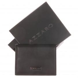 Porte-Monnaie Azzaro en cuir de vachette Noir