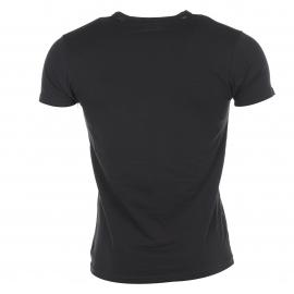 Lot de 2 Tee-shirts col rond noirs Emporio Armani coton stretch