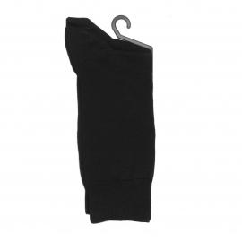 Lot de 2 paires de chaussettes Hom en fil d'écosse noir
