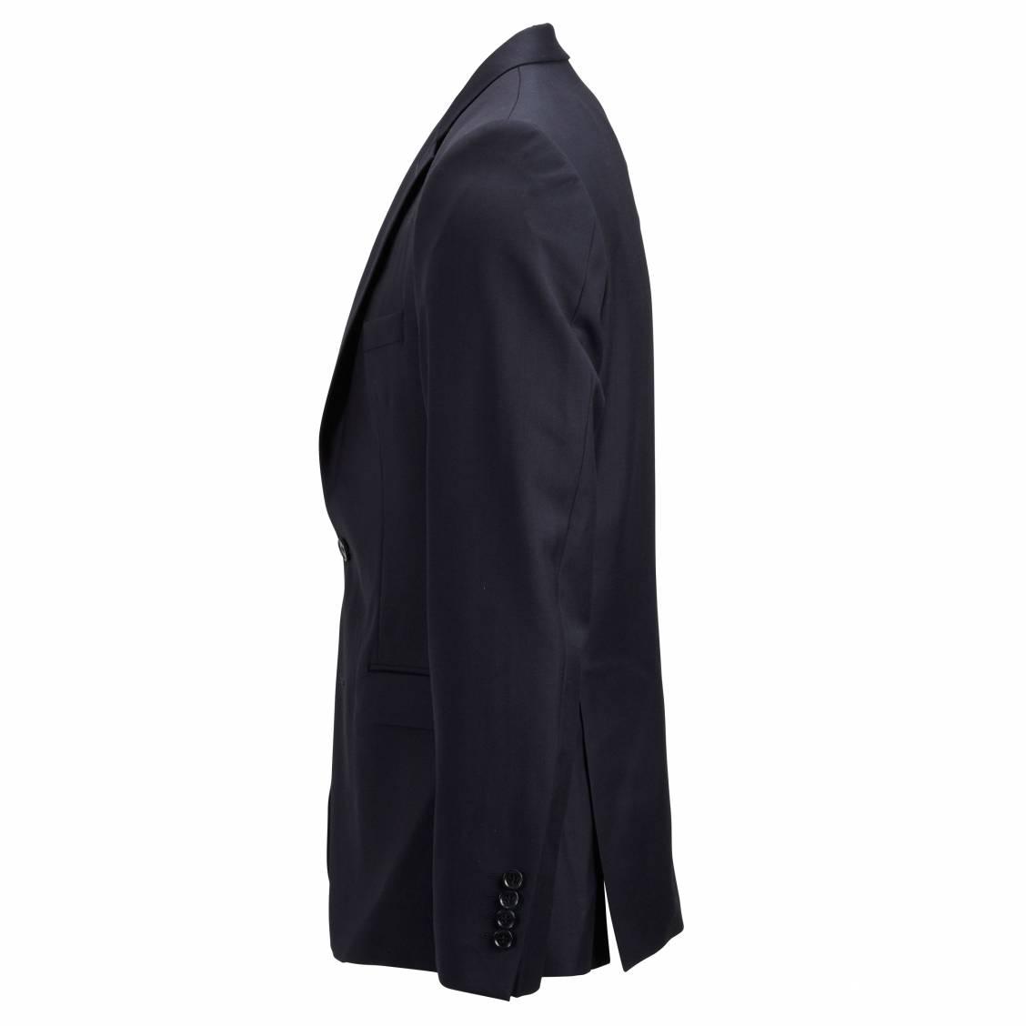 Blazer homme selected en laine Bleu marine