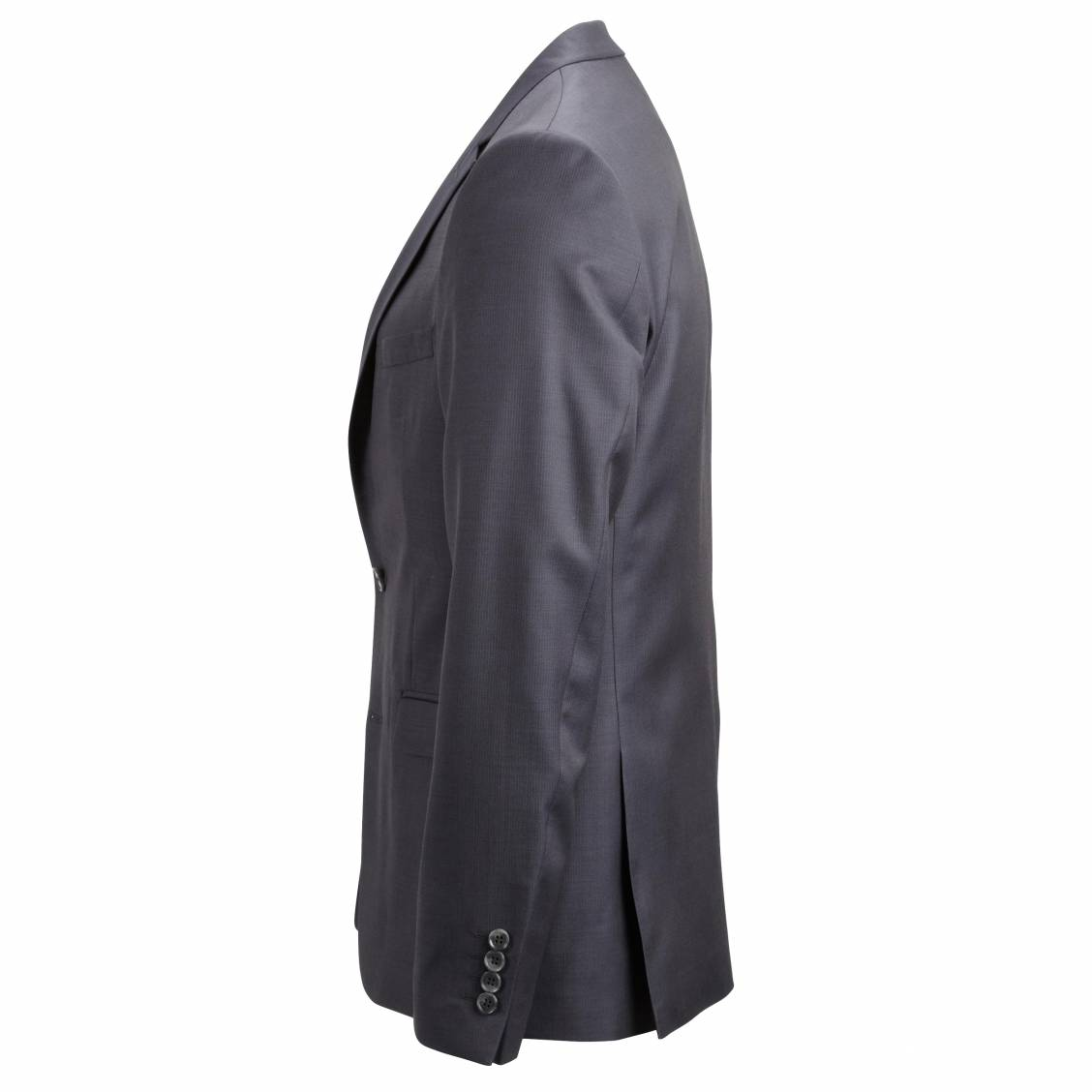 Veste de costume Selected en laine anthracite