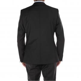 Costume cintré Selected Noir