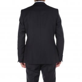Costume cintré Selected 100% Laine Bleu marine