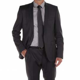 Costume cintré Selected Anthracite