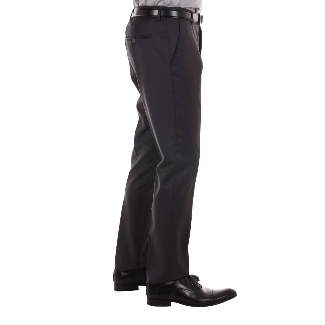 Pantalon de costume cintré anthracite