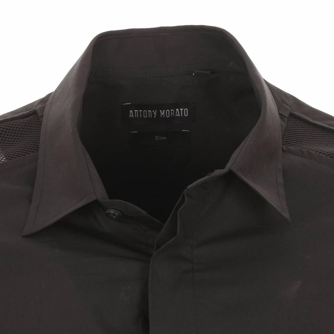 Chemise Antony Morato cintrée noire