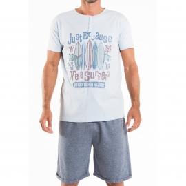 Pyjama court homme