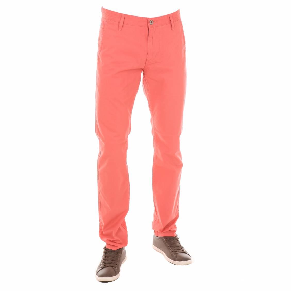 pantalon dockers alpha khaki fusel ajust rose p le rue des hommes. Black Bedroom Furniture Sets. Home Design Ideas