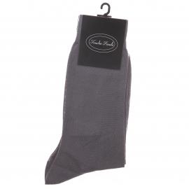 Chaussettes en fil d'écosse Gris