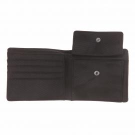 Portefeuille italien G-Star à 2 volets en tissu noir