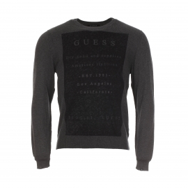 Pull col rond homme
