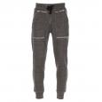 Pantalon de jogging Guess en coton noir chiné effet vintage