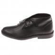 Chaussures Boots Selected en cuir noir