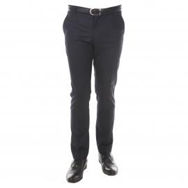 Pantalon de costume cintré Selected bleu marine
