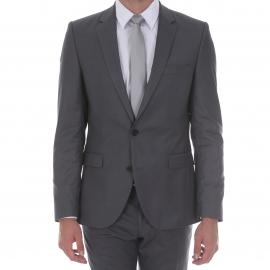 Costume cintré Selected gris foncé