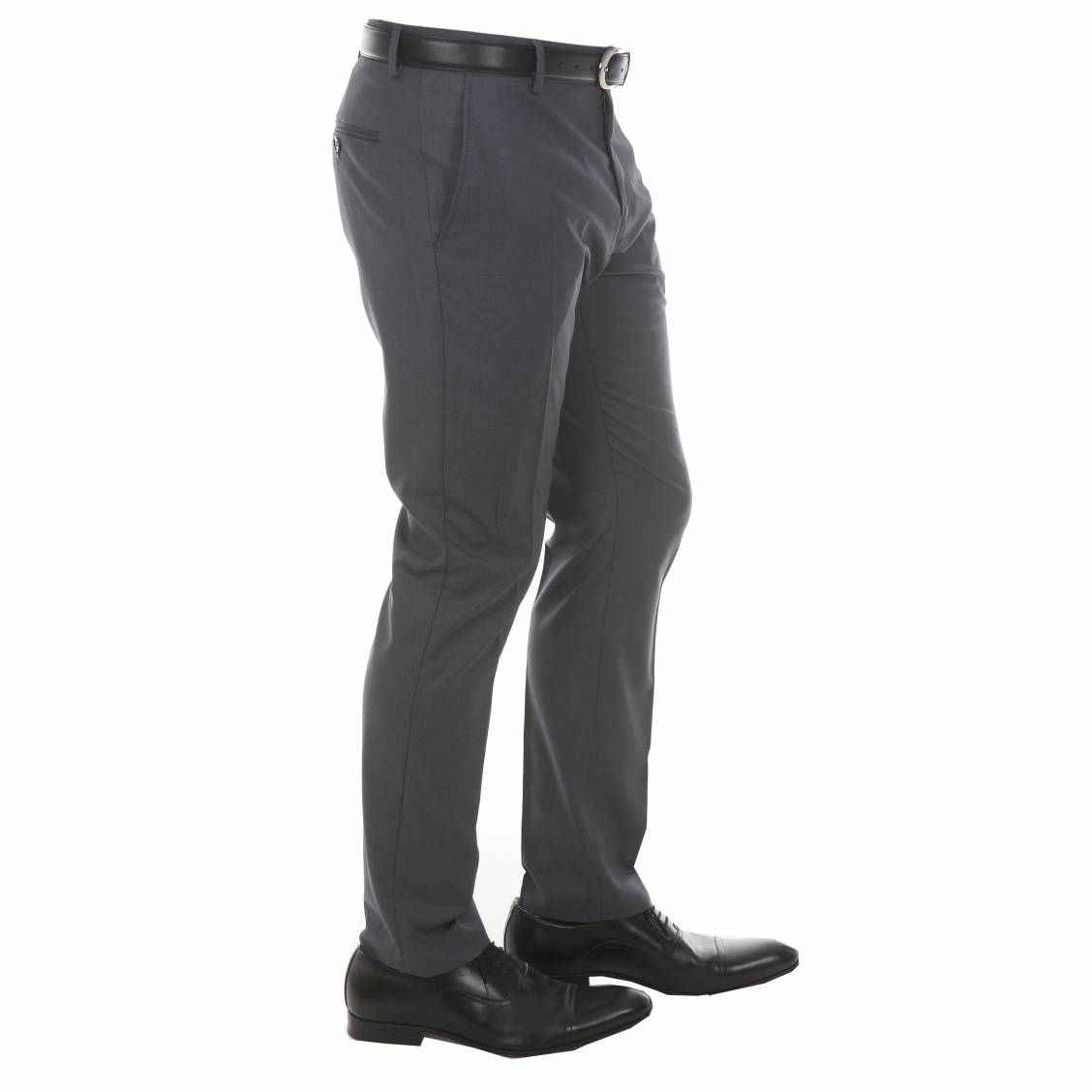 Pantalon de costume Selected gris foncé