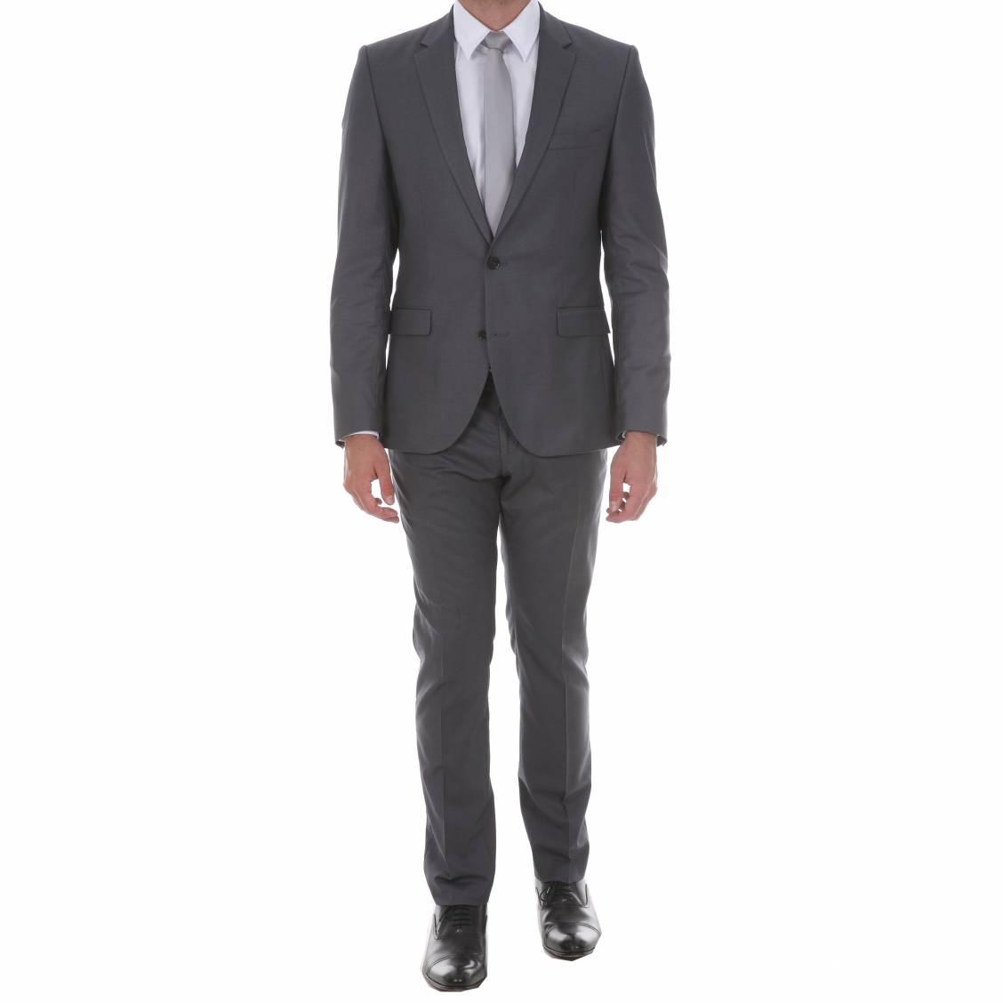 Costume cintr selected gris fonc rue des hommes - Costume gris fonce ...