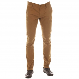 Pantalon chino Teddy Smith en coton stretch Miel
