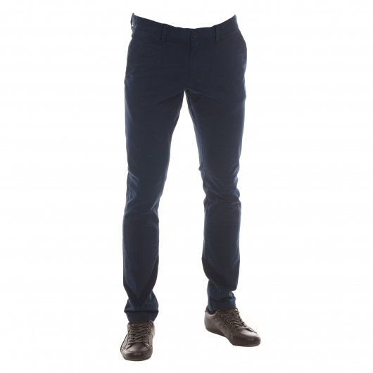 Pantalon chino bleu marine Teddy Smith