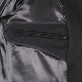 Caban Cap Sizun Armor Lux 100% laine noire