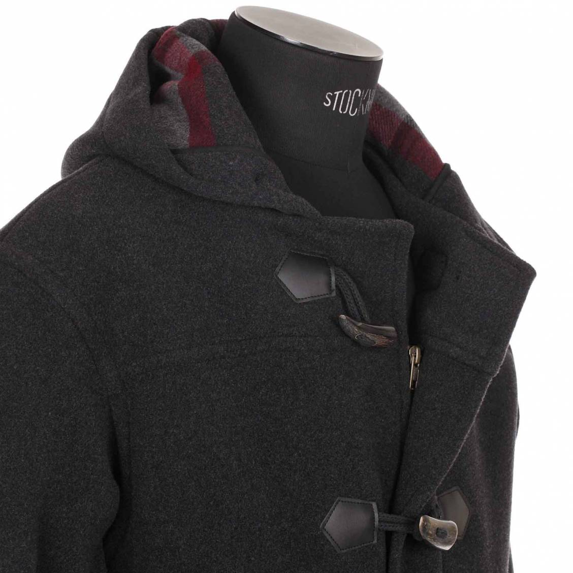 manteau long Armor Lux anthracite