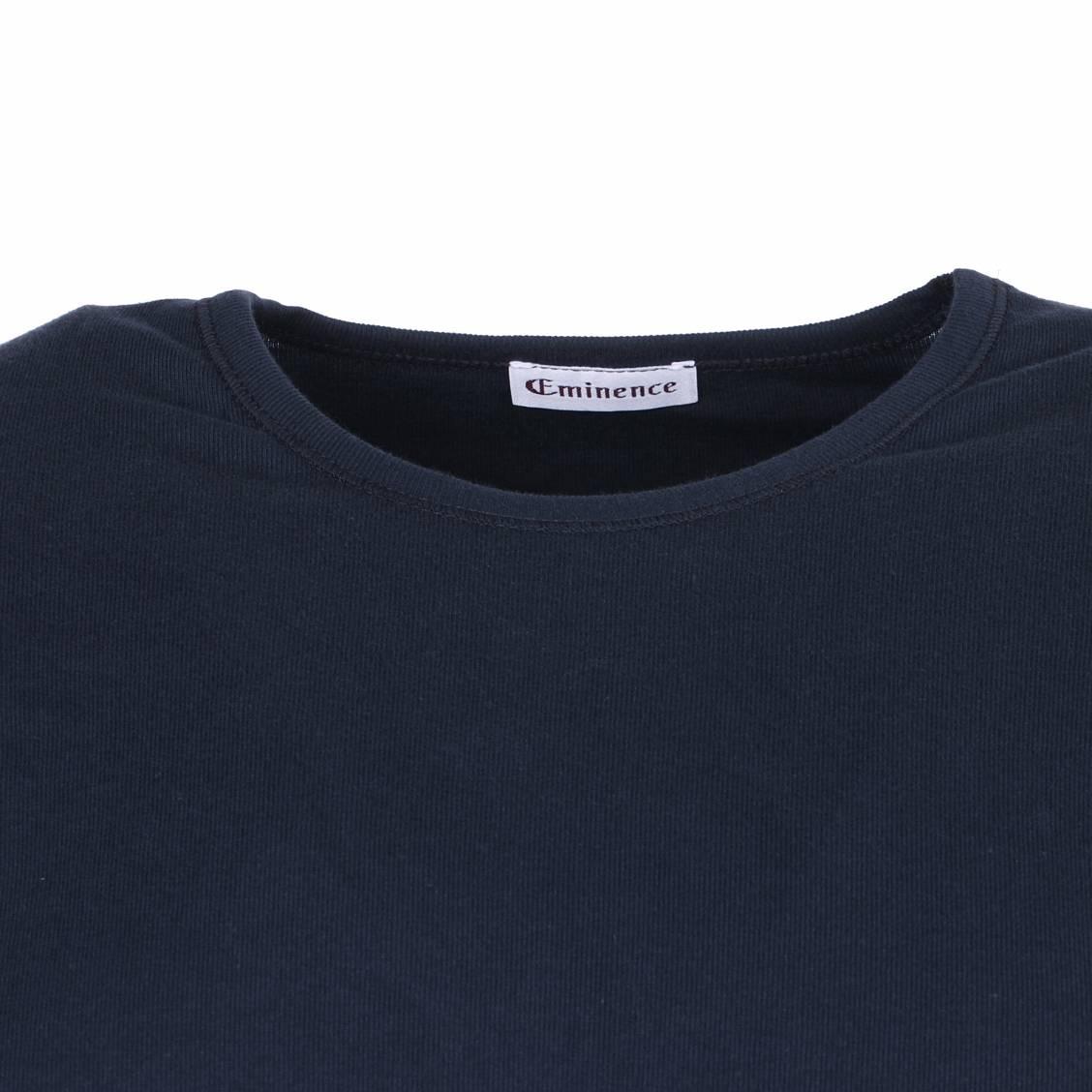 tee-shirt hypoallergénique bleu marine