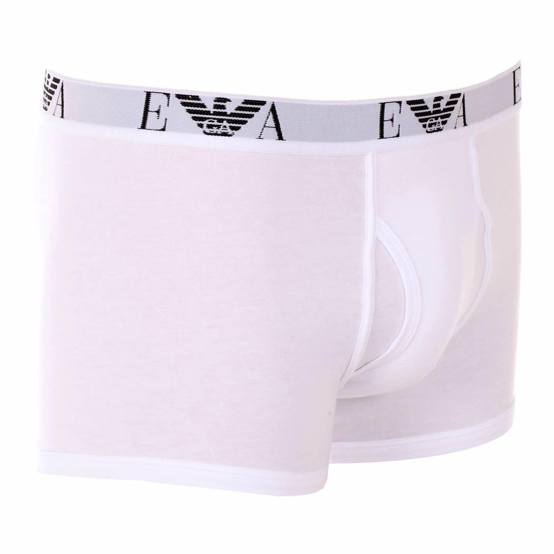 lot de boxers armani en coton blanc