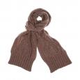 Echarpe en laine Levi's marron claire