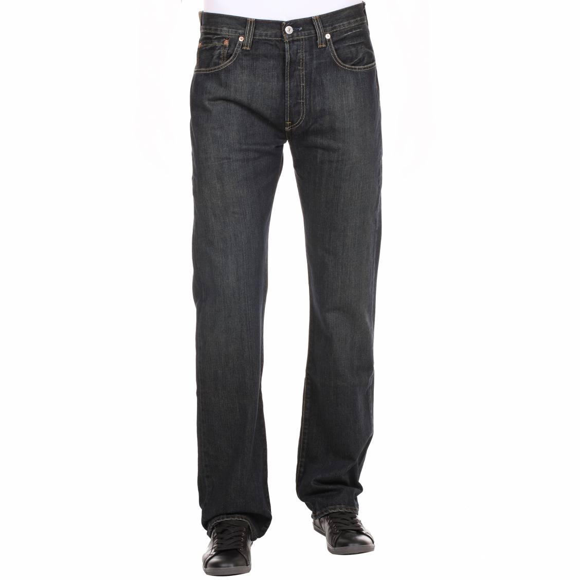 jean droit denim bleu foncé Levi's